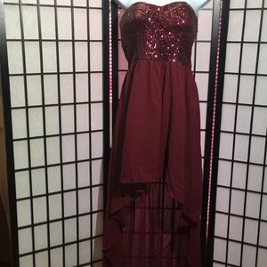 DEB Hi-low Formal Dress Size L